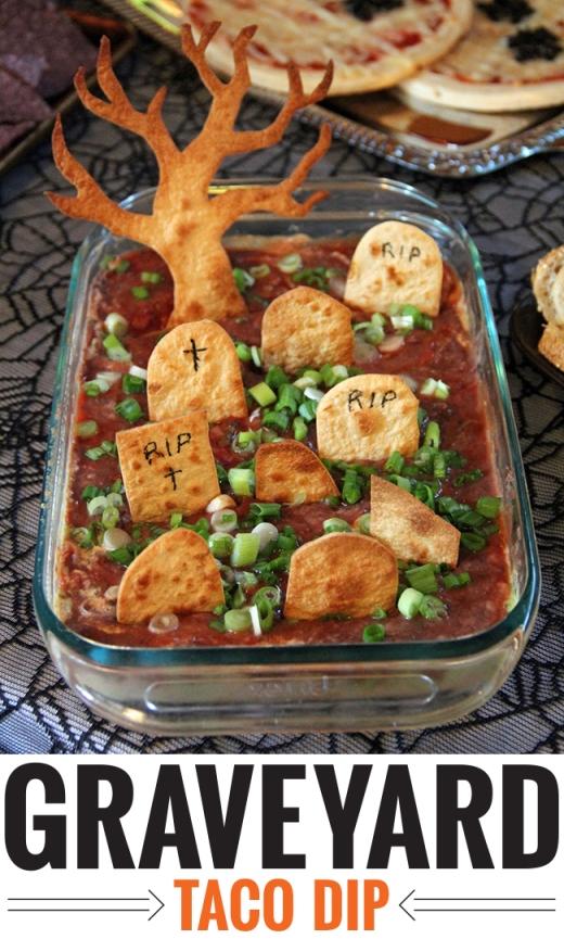 Halloween recipe taco