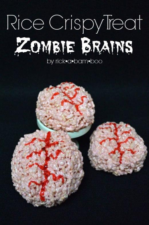 Halloween zombie recipe