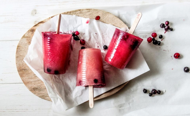 apple and berry ice lolly recipe